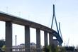 canvas print picture Koehlbrand-Brücke