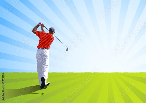 Fototapeta Sport - Golf obraz