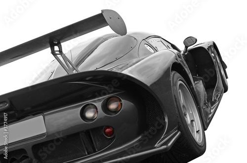Foto-Doppelrollo - GT racing car (von Christopher Dodge)