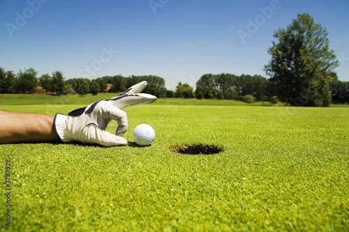 Poster Golf Golf club