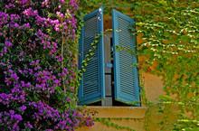 Fenster In Grimaud