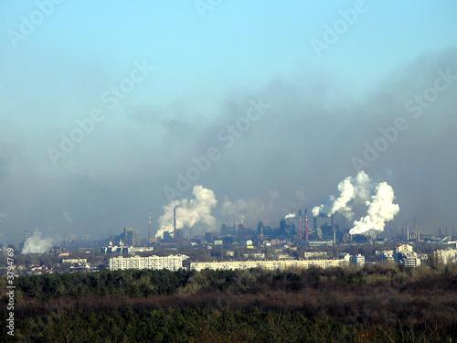 Fotografie, Obraz  smog