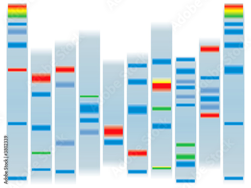 DNA clear Tablou Canvas