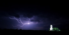 Big Storm Wiht Church