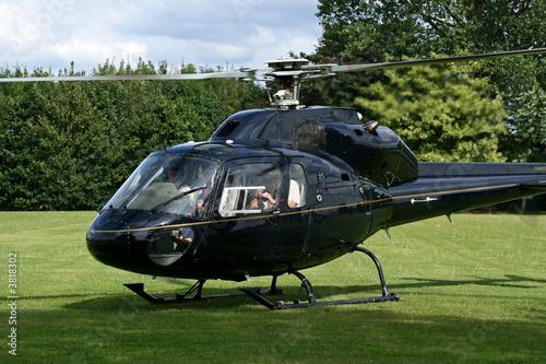 Türaufkleber Hubschrauber grounded helicopter