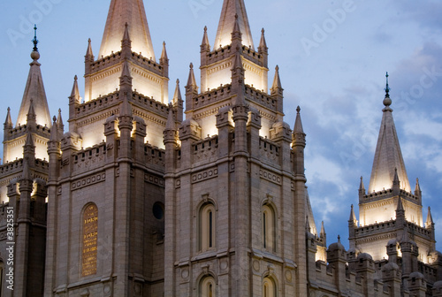 Keuken foto achterwand Temple Salt Lake City Temple