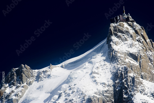 Fotomural View of Aiguille Du Midi from Chamonix