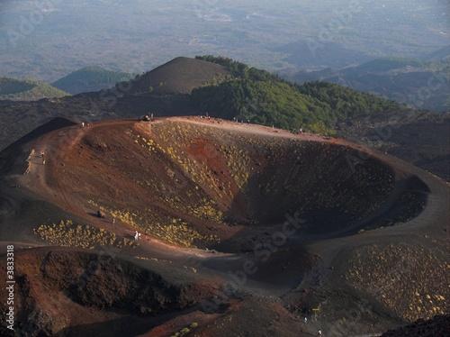 Fényképezés  Etna crateri Silvestri