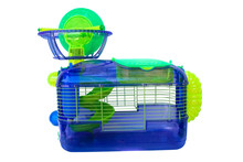 A Cage For Holding Hampsters A...