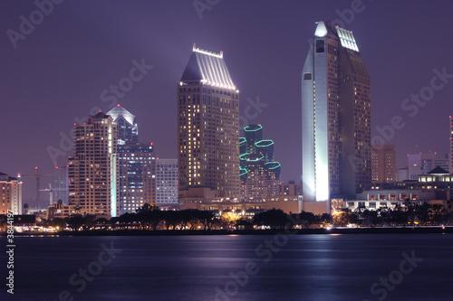 Fotografia, Obraz  San Diego, City Skyline