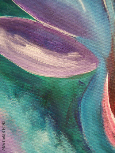 Vibrant abstract