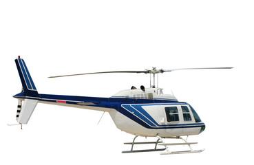 Fototapeta Isolated helicopter