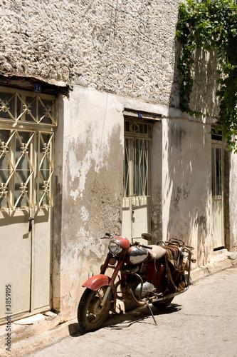Fototapety, obrazy: Ancient Motorbike, Turkey