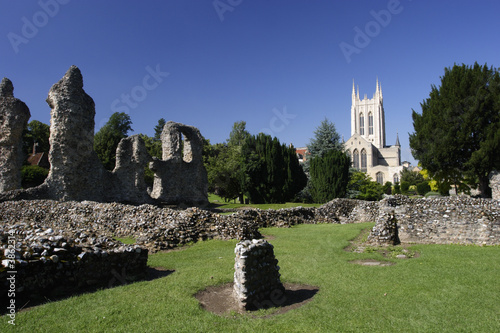 Fotografie, Obraz Cathedral, Bury St. Edmunds, Suffolk, UK