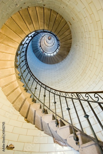 Fototapety, obrazy: lighthouse staircase 2