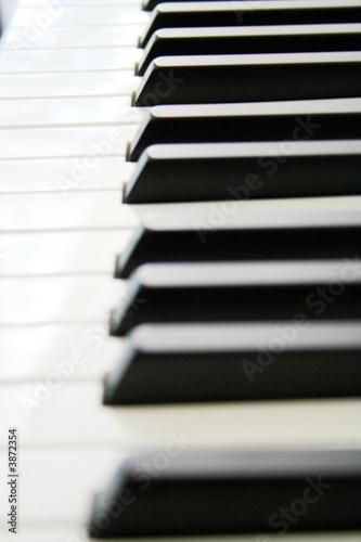 Piano Keys Wallpaper Mural