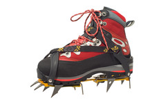 Trekking Boot With Crampon