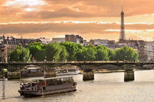 Fotografia  Sunset on Seine.