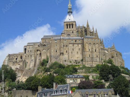 Fotografie, Obraz Mont Saint Michel 3