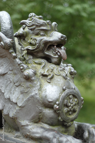 Tuinposter Indonesië Chinese Dragon