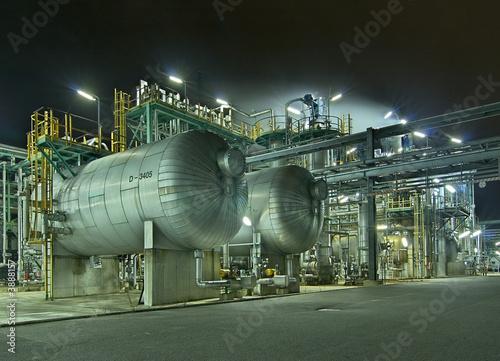 Fotografie, Obraz  Chemische Industrie