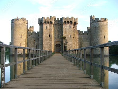 Foto auf AluDibond Historisches Gebaude Bodium Castle