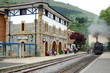 Antique station in Azpeitia. Spain