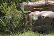 Old Rusty American Pickup Truck