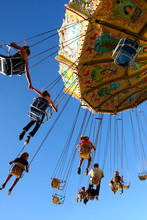 Action Photo Of Carousel
