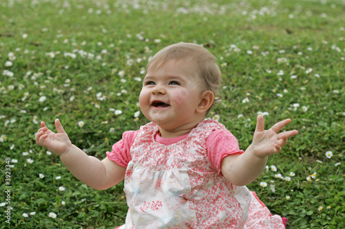 Fotografia, Obraz  bébé aux anges