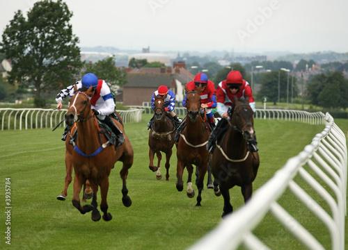 Fotografia Horse race