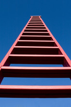Tall Red Ladder
