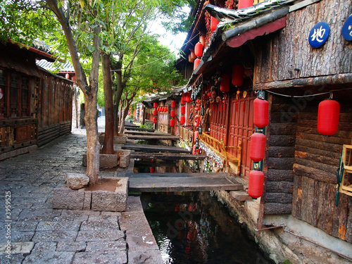 Fotobehang China Lijiang City China