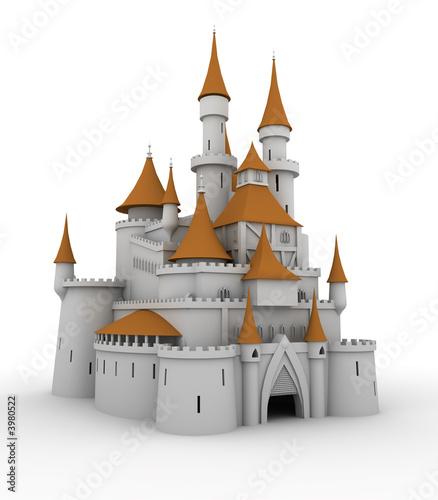 Printed kitchen splashbacks Castle Medieval palace