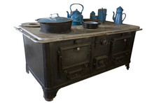 Old Stove Isolated