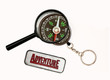 With compass and magnifier