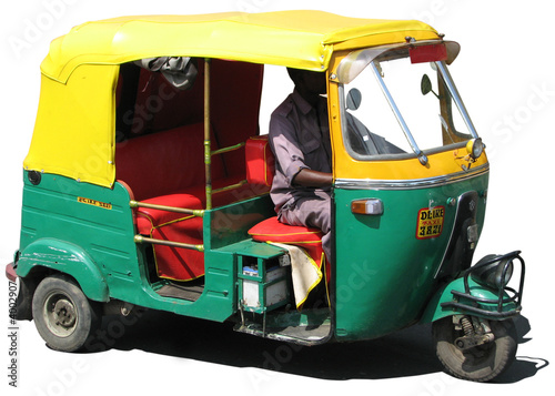 rickshaw 01 Tapéta, Fotótapéta