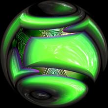 Green Crystal Ball