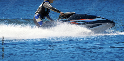 Poster Nautique motorise Jet ski