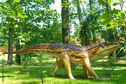 Ornithosuchus longidens, Ornithosuch, thecodont Tablou Canvas