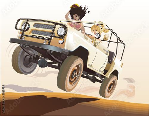wektor-rosyjski-jeep