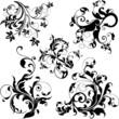 canvas print picture floral design elements