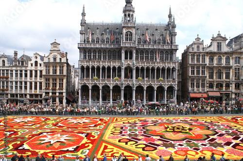 Poster Brussel fête des fleurs sur la grand place de Bruxelles
