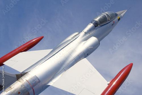 Jet Fighter Canvas Print