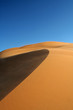 Erg Chebbi sand dunes and sandstorm