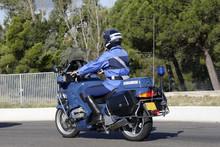 Motard Gendarme