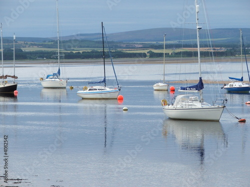 Canvas Print findhorn bay1