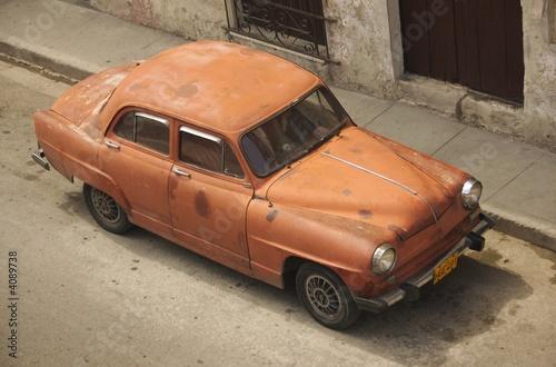 Türaufkleber Autos aus Kuba Car in Havana