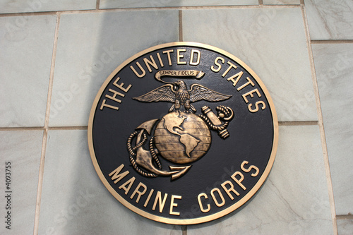 Photo  Marine Corp Emblem