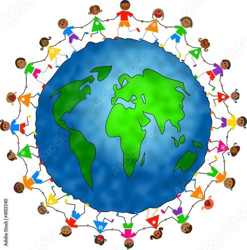 Foto-Stoff - global kids - asian version (von Prawny)